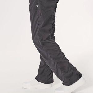 Lululemon Carbon Dance Studio Lined Pants